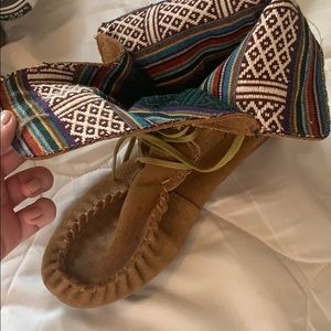 Steve madden size 7 suede booties